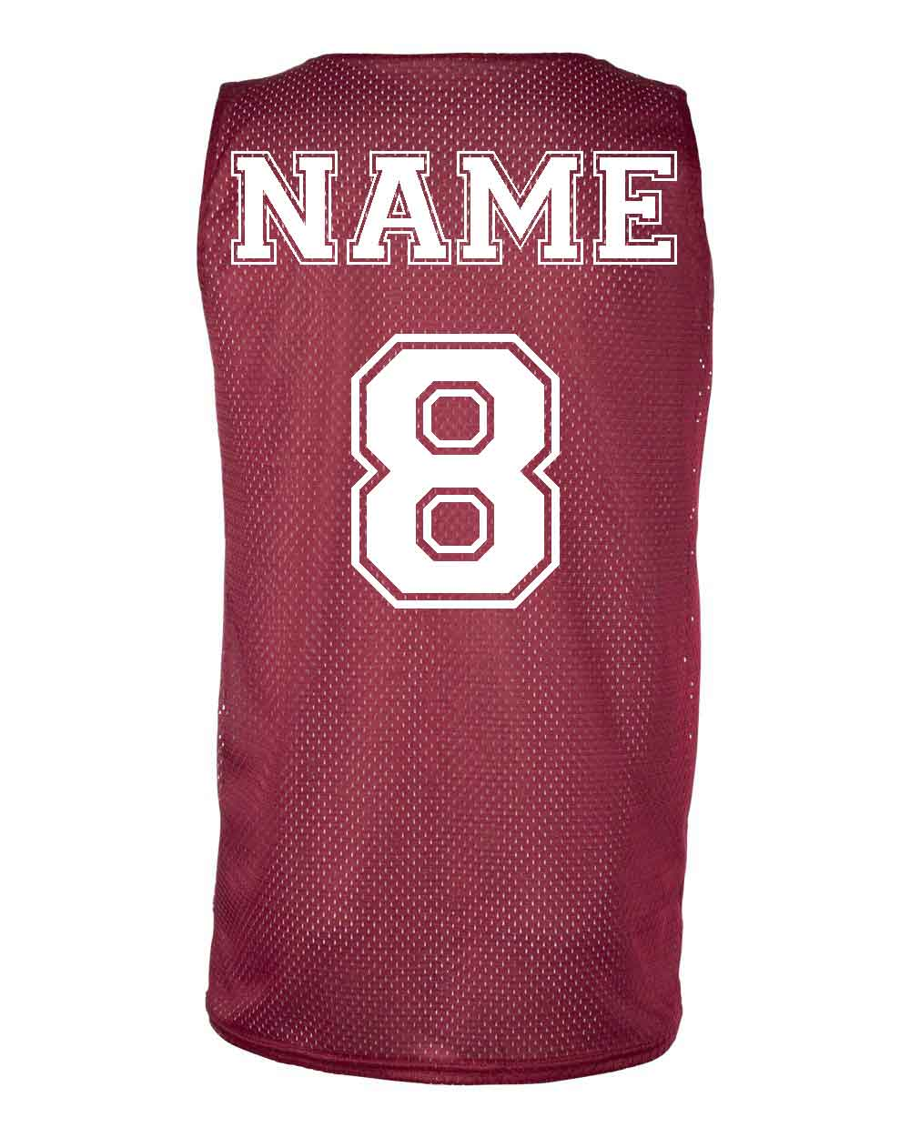 Sports Jersey Customization Names and Numbers